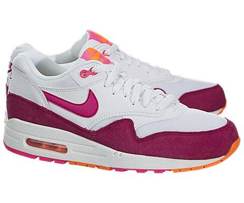 Nike Women's Air Max 1 Essential White Pink Pow Total