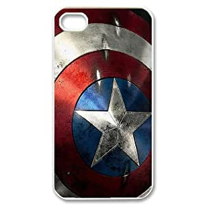 Custom HD Image Captain American poster phone Case Cover for Apple iPhone 4 4S RCX065801