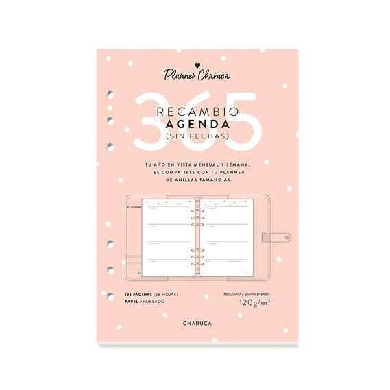 Recambio Agenda sin fechas. A5