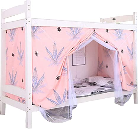 Amazon Com Editha Bed Mosquito Nets Bedding Curtain Blackout Cloth Bed Canopy Single Sleeper Bunk Bed Bunk Tent Style 1 Bed Curtain Bed Net 45 394 4in Home Kitchen