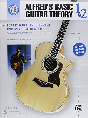 Alfred's Basic Guitar Theory, Bk 1 & 2: The Most Popular Method for Learning How to Play (Alfred's Basic Guitar Library)