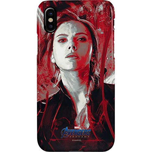 Skinit Avengers Endgame Black Widow iPhone Xs Max Lite Case - Officially Licensed Marvel/Disney Phone Case Lite - Ultra-Thin, Lightweight iPhone Xs Max Cover