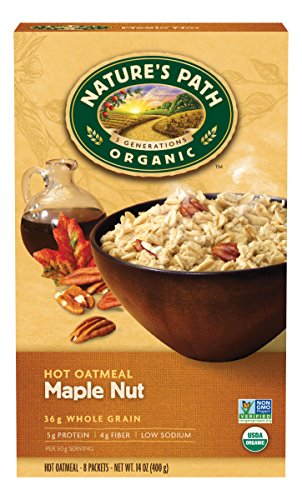 natures-path-organic-instant-hot-oatmeal-maple-nut-14-ounce-pack-of-6
