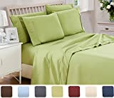 6 Piece Lux Decor Bed Sheets Set ,Hotel Quality Brushed Velvety...
