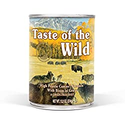 Taste of the Wild Grain Free High Protein Wet Canned Stew Dog Food Natural Ingredients