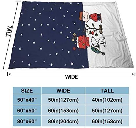 huashan Couverture Polaire - Play Snow Throw Size Couverture de lit de Luxe légère et Confortable 60 'X50'