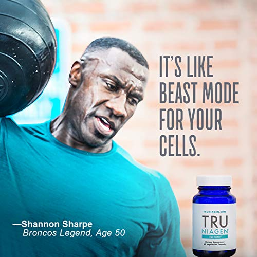 TRU NIAGEN® (Nicotinamide Riboside) | Increased 300 mg/Serving (2 Vegan Capsules) | Advanced NAD+ Booster for Next-Level Cellular Repair & Increased Energy | Vitamin B3 (NR) by TRU NIAGEN (Image #3)