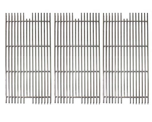 Hongso SCD911 3 Pack Universal 304 Stainless Steel Grill Grid Grates Replacement for Viking VGBQ 30 in T Series, VGBQ 41 in T Series, VGBQ 53 in T Series Gas Grill