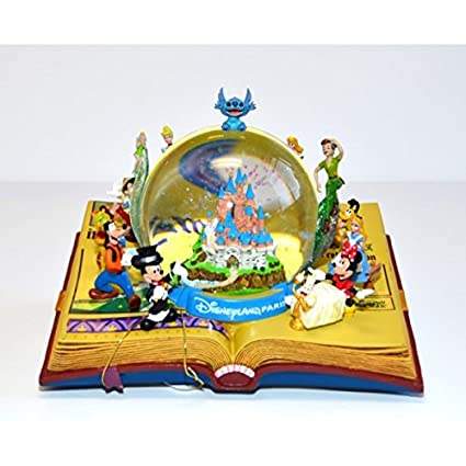 Disneyland Paris Illustration Livre Boule De Neige Amazon