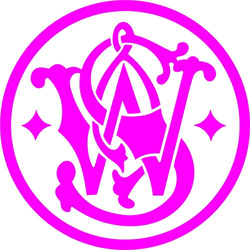 Smith & Wesson Vinyl Decal (Hot Pink)