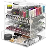 Whitmor 5 Tier Acrylic Cosmetic and Accessory Organizer 6477-5512