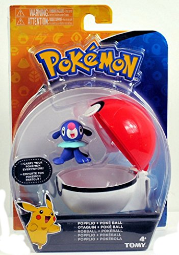 Pokemon Clip And Carry Poke Ball Popplio - 1