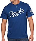 Mike Moustakas Kansas City Royals #8 MLB Men's 2015 World Series Champions Player T-Shirt (Small)