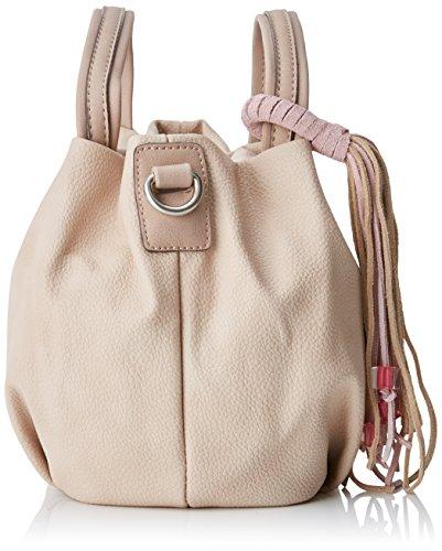 H donna l per L in X 17x17x27 borsetta cm rosa Abbacino palissandro bastone Spugna wHq8a8