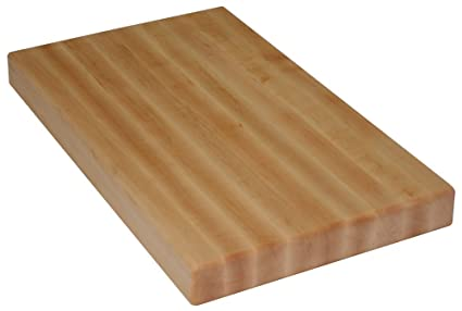 Amazon com: Maple Butcher Block Cutting Board (Thickness: 3/4