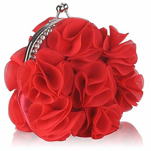 TrendStar - Cartera de mano para mujer Rojo - rojo