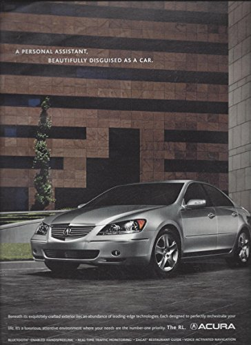 magazine-advertisement-for-2006-silver-acura-rl-personal-assistant-disguised