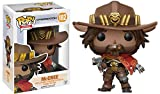 Funko Pop! Games: Overwatch Action Figure - McCree Bundled with Box Protector