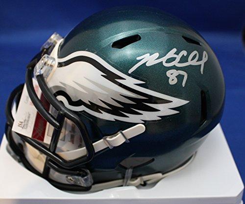 Autographed Brent Celek Philadelphia Eagles Mini Helmet - JSA COA