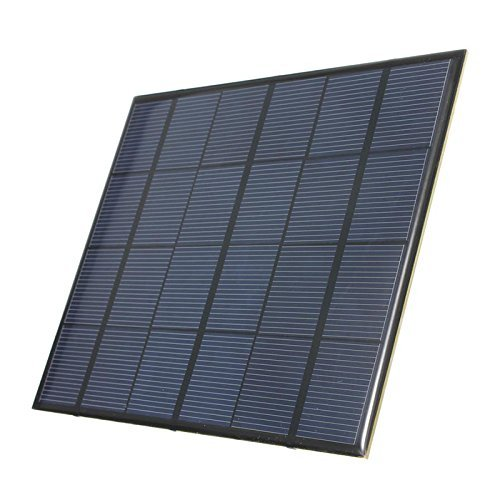 TOOGOO 3.5W 6V 583mA Monocrystalline silicon Epoxy Mini Solar Panel DIY Solar Module System Solar cells Battery Phone (Solar Module Efficiency)