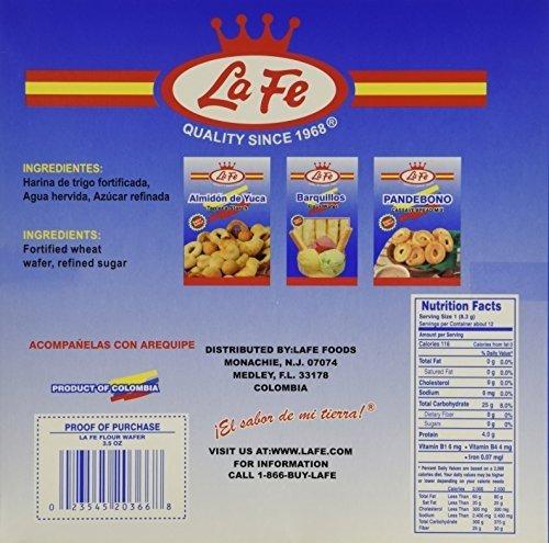 La Fe Obleas Flours Wafers 3.5 OZ
