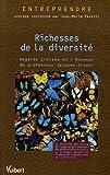 Richesses de la diversité : Regards croisés en l'honneur du professeur Jacques Orsoni