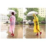 KAKA(TM) Easy Carried Adult Raincoat Wind Coat for Walking Fishing Bicycle Bike - Pink