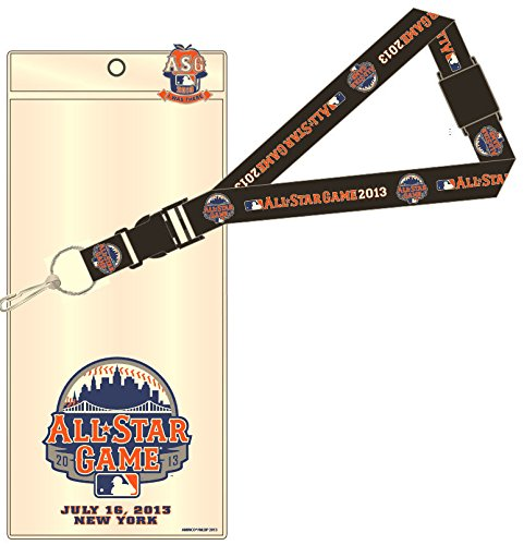 Star Game All Pin (aminco 2013 New York Mets All-Star Game Lanyard/Ticket Holder/I Was There Pin)