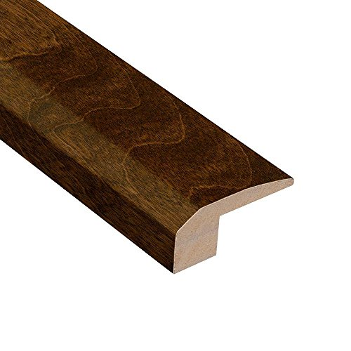 (Antique Birch 3/8 in. Thick x 2-1/8 in. Wide x 78 in. Length Hardwood Carpet Reducer Molding )