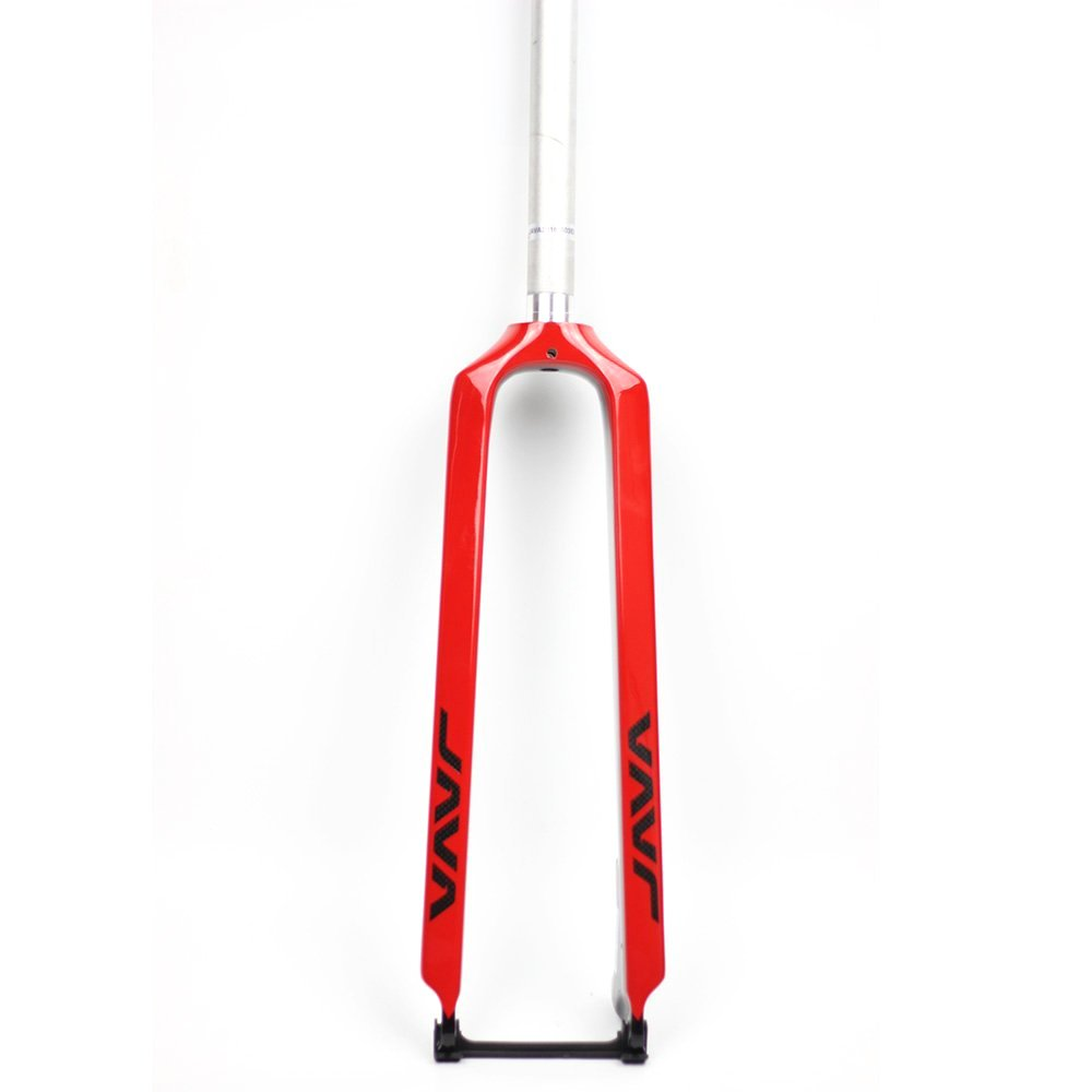 JAVA 26 27.5 Alloy & Carbon Fork MTB 29er Rigid Forks Disc Brake 28.6mm Steerer (black) PROJAVA BICYCLES