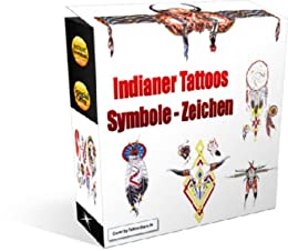 Amazon Com Indianer Symbole Zeichen Tattoo Vorlagen German