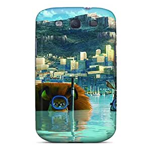 New Arrival Madagascar 3 Europe's Most Wanted JyQhKuK5738ButoO Case Cover/ S3 Galaxy Case