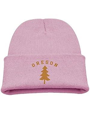 Oregon Douglas Pine Tree Boy Girl Beanie Hat Knitted Beanie Knit Beanie