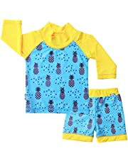 JAN & JUL Sun Protection Kids Water Play: Hat Swim Shirt, Shorts Baby Toddler