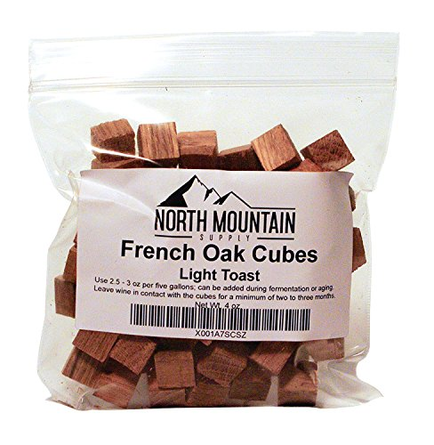North Mountain Supply French Oak Cubes (Light Toast, 4 -