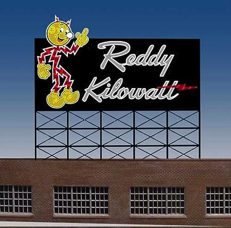 3682 Small Model Reddy Kilowatt Animated U0026 Lighted Sign By Miller Signs