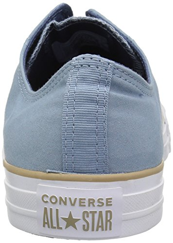 Denim Color Low Converse Taylor White Khaki Sneaker Blocked Star Chuck All Top Washed xxRqBpn