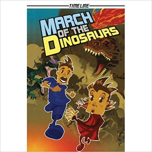 March of the Dinosaurs (Timeline Graphic Novels)