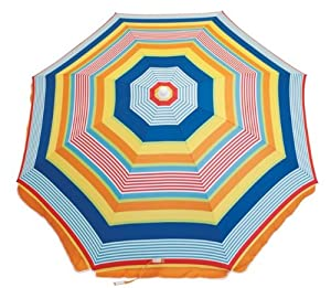 Rio Brands Deluxe Sunshade Umbrella-6 Ft