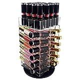 Ikee Design Acrylic Rotating Makeup Cosmetic 52 Lipstick Lip Gloss Rack Holder Organizer Storage Tower offers