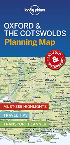 (Lonely Planet Oxford & the Cotswolds Planning Map)