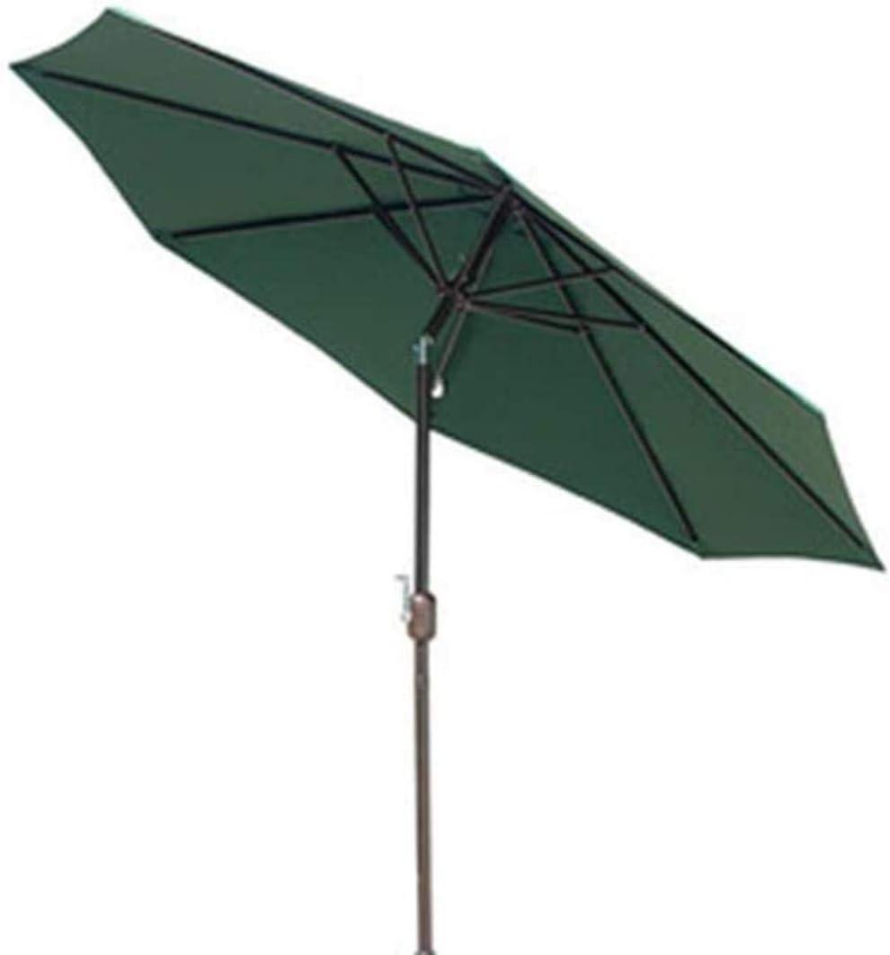 ZHAS Garden Parasols Garden Umbrella, Octagonal Parasol with UPF 50+ Protection, Wooden Pole and Ribs, Tilt Mechanism, Base Not Included, for Balcony Terrace Garden Outdoor (Color : C)