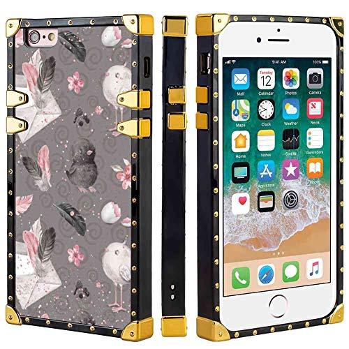 - Square Corner Case Fits for Apple iPhone 6s Plus (2015)/iPhone 6 Plus (2014) [5.5