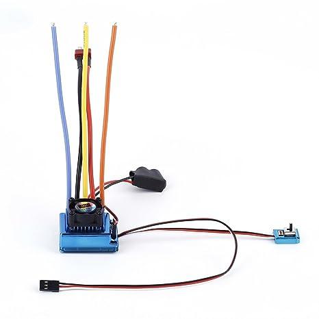 Amazon.com : TSKY 120A Sensored Brushless ESC Electronic Sd ... on mystery brushless outrunner wiring-diagram, rc heli wiring-diagram, hobbywing esc wiring-diagram, 4s lipo wiring-diagram, brushless drill wiring-diagram,