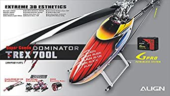 Align/T-Rex Helicopters 700L Dominator Super Combo