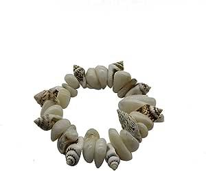 أساور معصم بسوار من الأحجار الكريمة المرنة للجنسين النساء الرجال عارضة شاطئ الأزياء والمجوهرات هدية