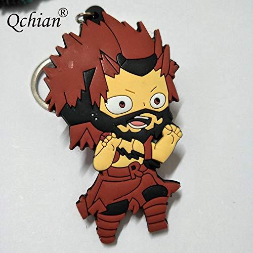 Amazon.com: Momoso_Store my hero academia keychain boku no ...