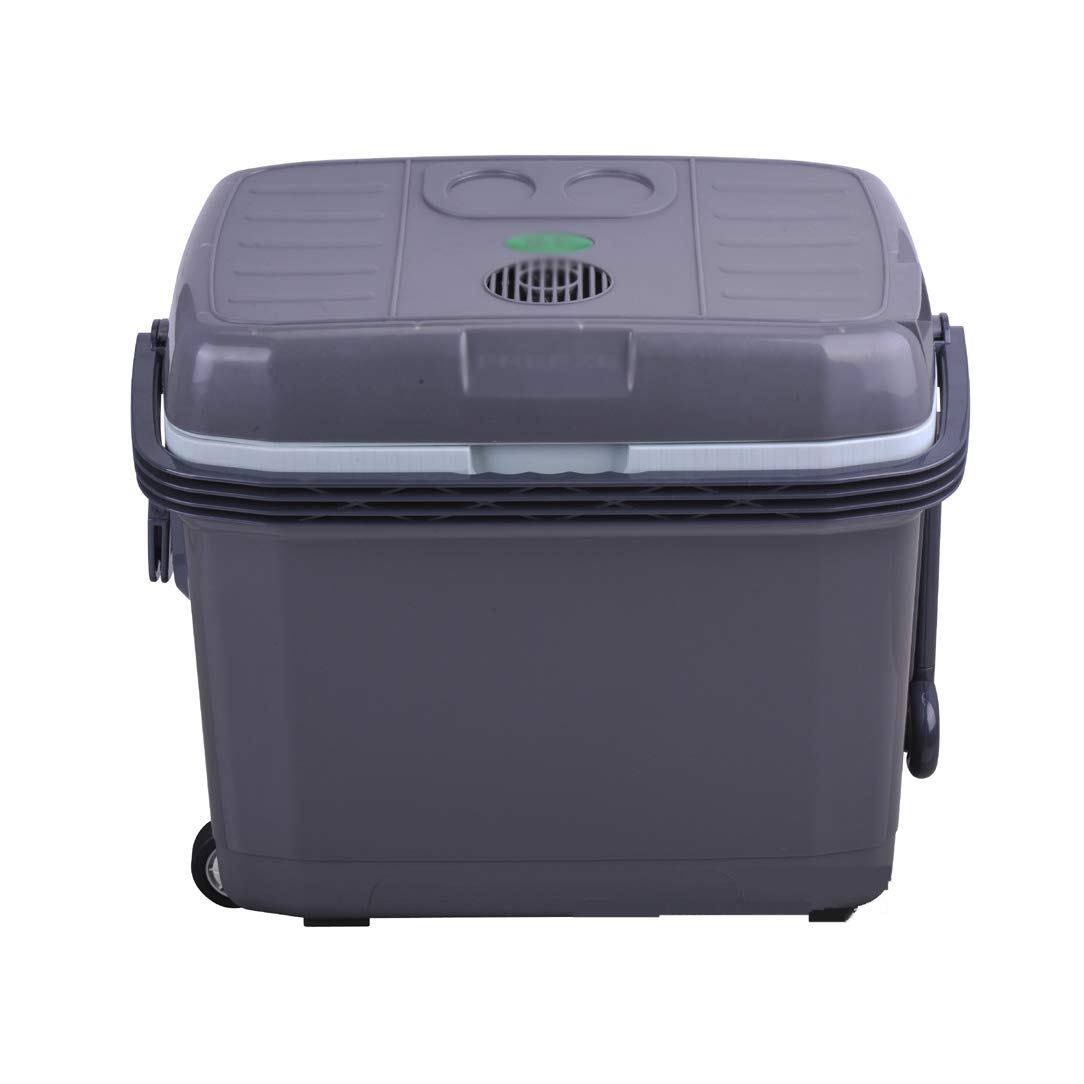 SryWj 40L Große Kapazität Doppelkühlung Auto Kühlschrank Heizung und Kühlung Kühlschrank Auto