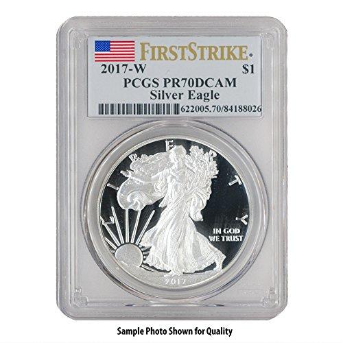 2017 W American Silver Eagle $1 PR70DCAM PCGS First Strike
