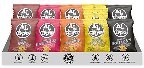 AL Chipino Gourmet Tortilla Chips Variety Pack (5 Flavors)